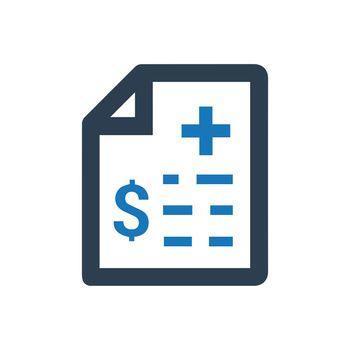 Medical Bills Icon