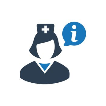 Medical Information Support Icon