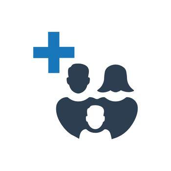 Family Healthcare Icon