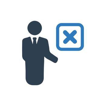 Employee Remove Icon