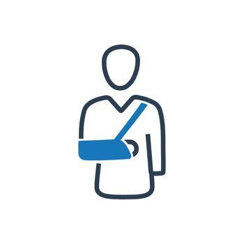 Broken Arm Icon