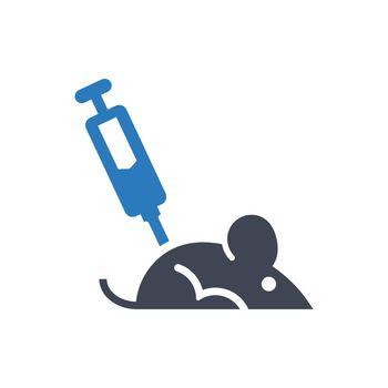 Mice experiment icon