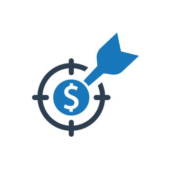 Financial Target Icon