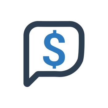 Financial Customer Support Icon