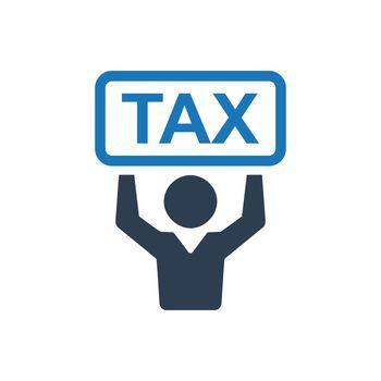 Income Tax Day Icon