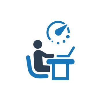 Office Working Icon