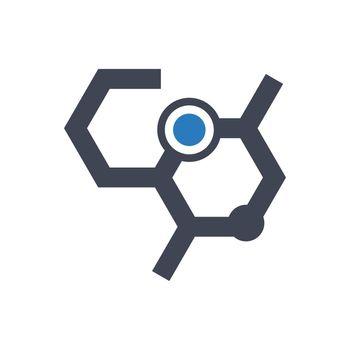 Chemistry formula icon