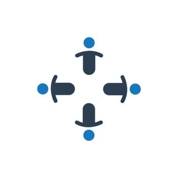 Business Team Meeting Icon
