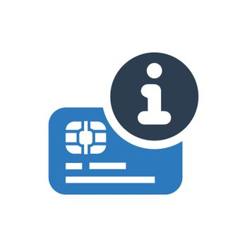 Credit Card Instruction Icon