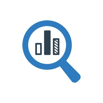 Search Chart Icon