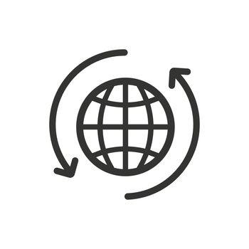 Global Transaction Icon