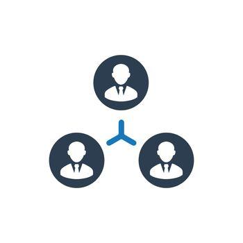 Teamwork Connection Icon