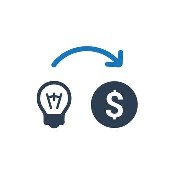 Make Money Idea Icon
