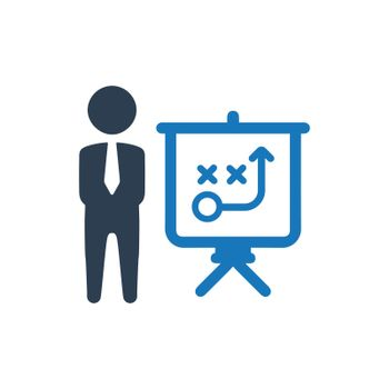 Presenting Business Planning Icon