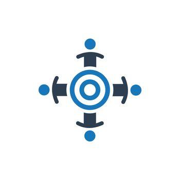 Teamwork Target Icon