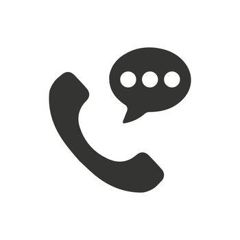 Telephone Conversation Icon
