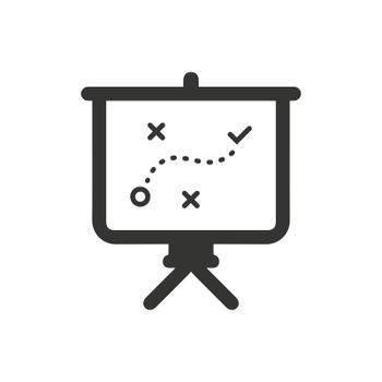 Business Strategy Plan Icon