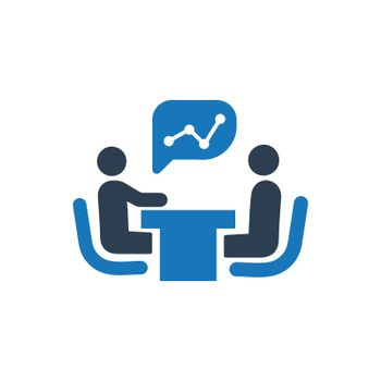 Financial Meeting Icon