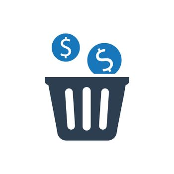 Capital Waste Icon