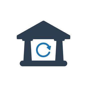 Inter Bank Transaction Icon