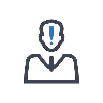 Account alert icon