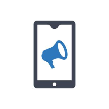 Mobile promotion icon
