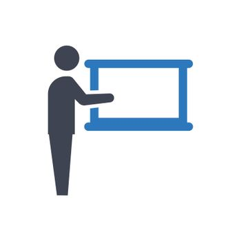 Business seminar icon