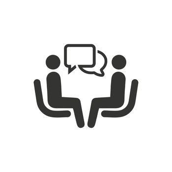 Business Conversation Icon
