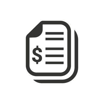 Financial Statement Icon