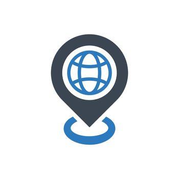 Travel destination icon