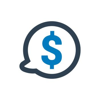 Financial Discussion Icon