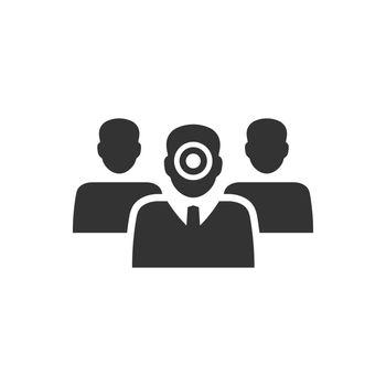Target human resource icon