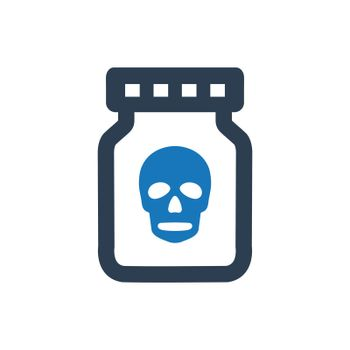 Toxic Bottle Icon