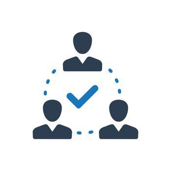 Teamwork Decision Icon