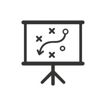 Presenting a Strategic Planning Icon