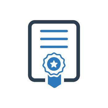 Graduation Certificate Icon