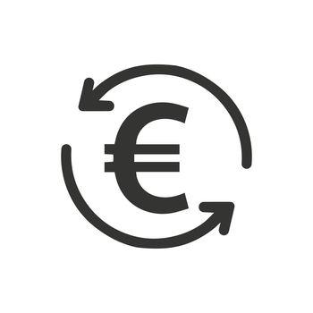 Euro Transaction Icon