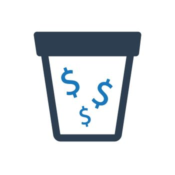 Money Drain Icon