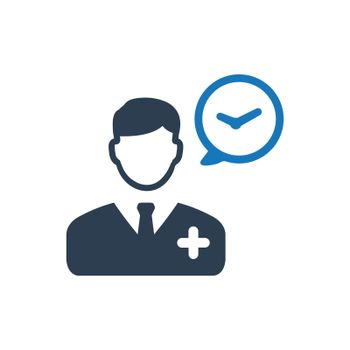 Doctor Schedule Icon