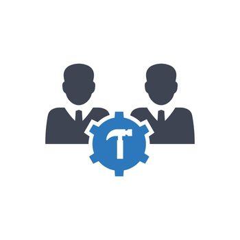 Repair team icon