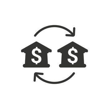 Bank Transfer Icon