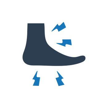 Tingling Feet Icon