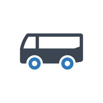 Travel bus icon