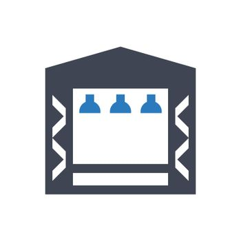 Concert stage icon