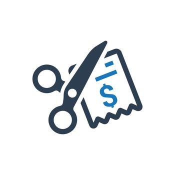 Cost Minimize Icon