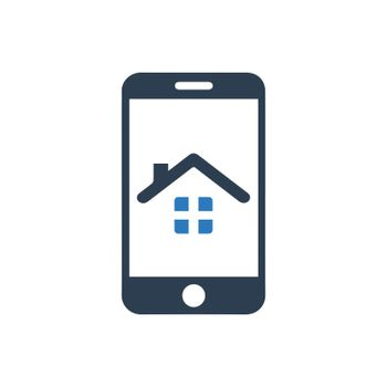 Mobile Real Estate Icon