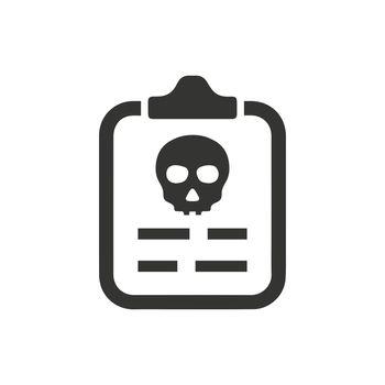 Virus Report Icon