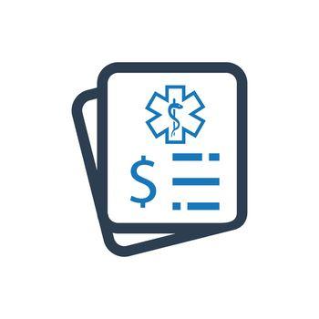 Medical Bill Icon