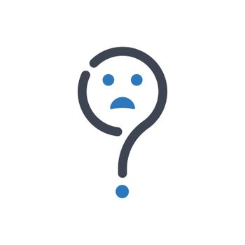 Confusion expression icon