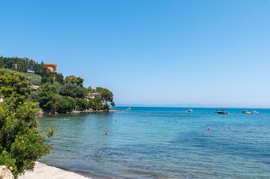 landscape of an inlet in Porto Santo Stefano